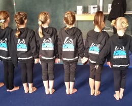 All ready for a competition